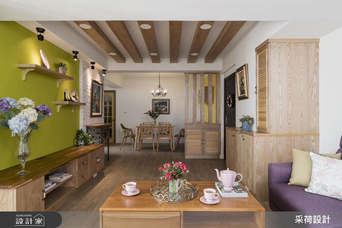 市區老屋精彩改造! 化身小家庭最愛的 30 坪溫馨鄉村宅