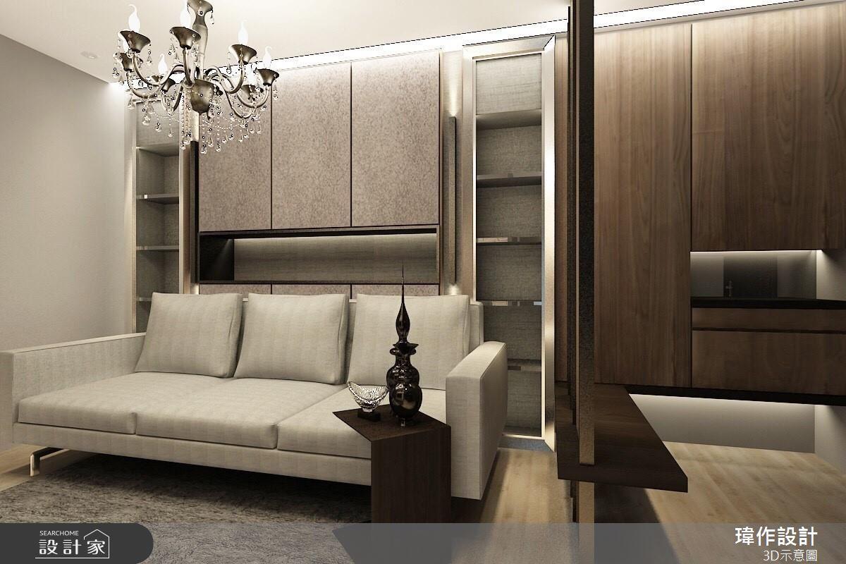 18 坪精緻現代房,提供屋主夫婦 VIP 尊榮享受!