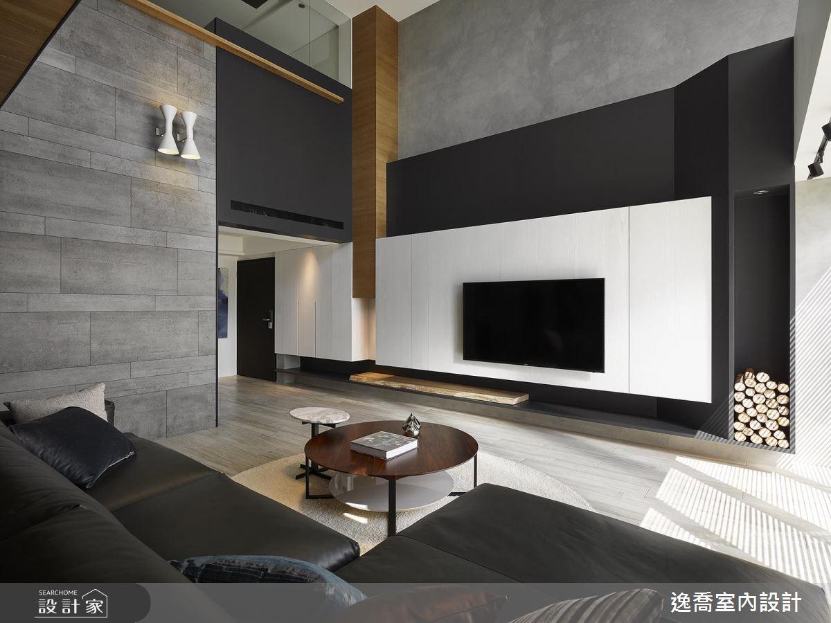 破除老舊格局!80 坪樓中樓變身三代都愛的高質感現代風