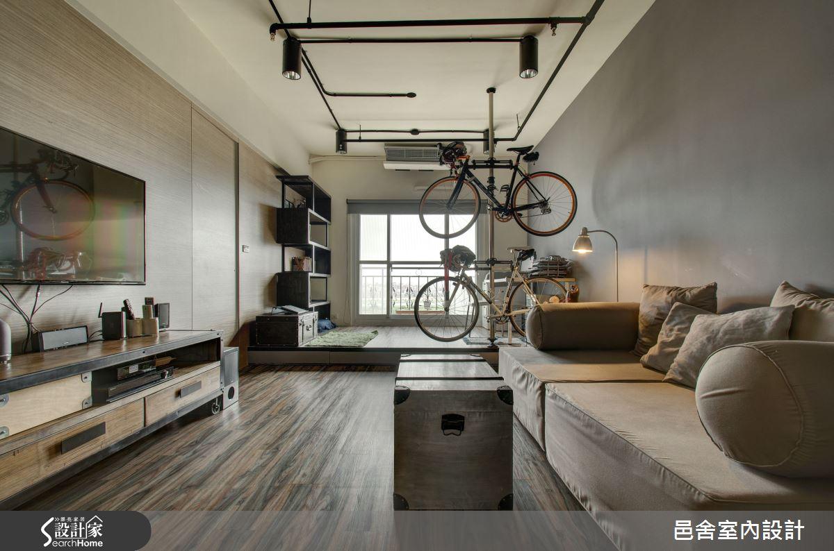 22 坪玩味 1 房 2 廳 Loft 風格小豪宅