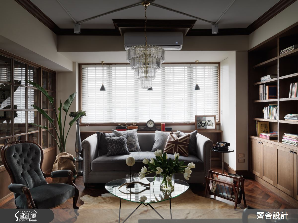 描摹老房子的恬靜美好 復刻 25 坪美式木色回憶