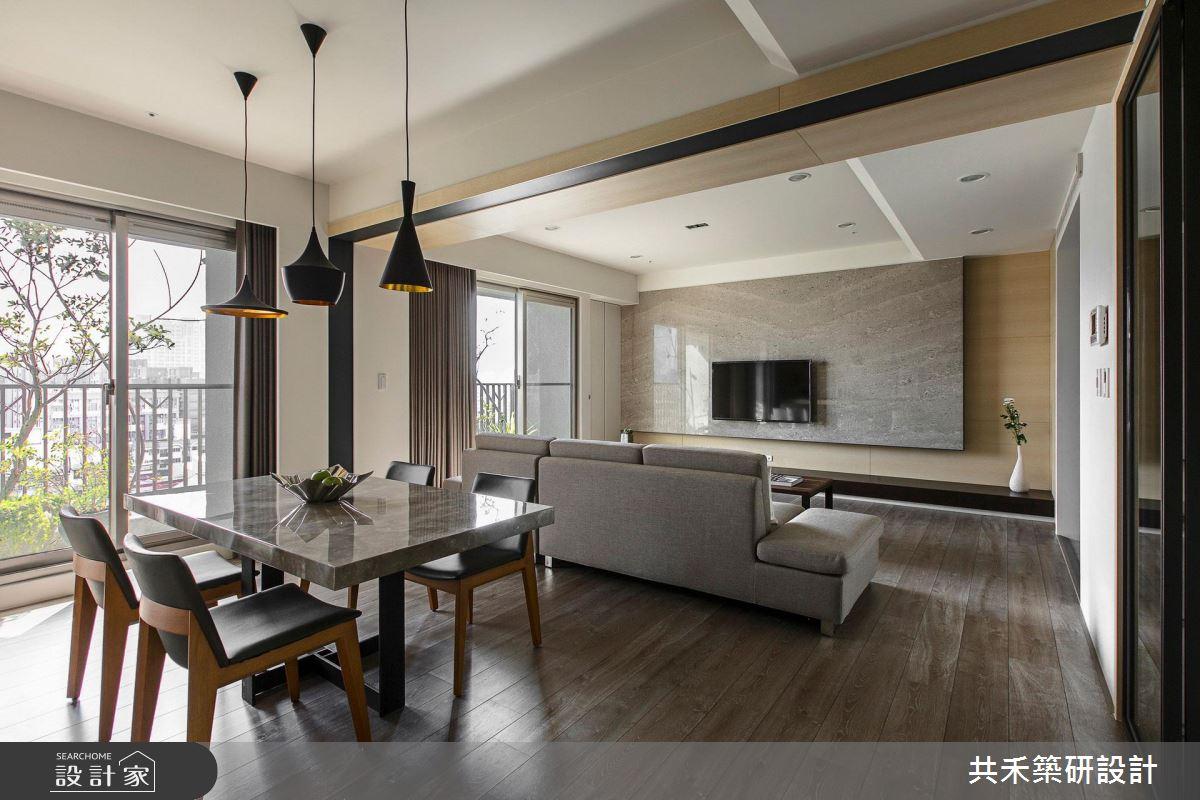 我家和陽光戀愛了!溫潤、清新的 3 房 2 廳現代宅