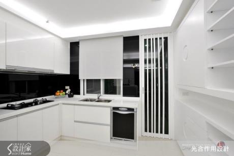 現代感餐廚空間,在家吃飯也有五星級餐廳質感!
