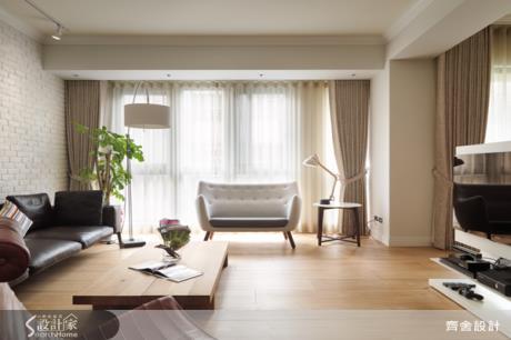 破解長型屋限制!減壓、清爽、舒適的「北歐風格居家」