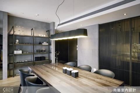 材質揉入工藝精神,打造現代禪住宅