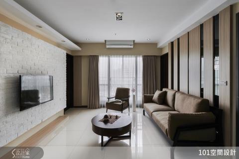 善用空間優勢與質樸選材,打造人文風三代同堂居所