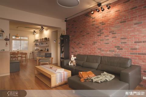 木質感、輕裝修,打造輕工業風的居家好宅