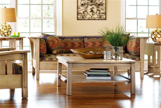 【達森家居】STICKLEY_Prairie Settle 木框沙發-雙人.三人沙發