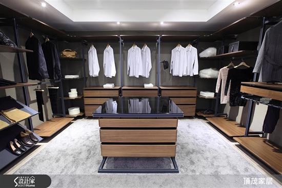 頂茂家居-開放式衣帽間-更衣間-開放式衣帽間、更衣間,頂茂家居,衣櫃