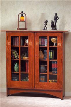 達森家居 DAYSUN HOME-【達森家居】STICKLEY_Harvey Ellis Bookcase with Inlay 書櫃-【達森家居】STICKLEY_Harvey Ellis Bookcase with Inlay 書櫃,達森家居 DAYSUN HOME,書櫃