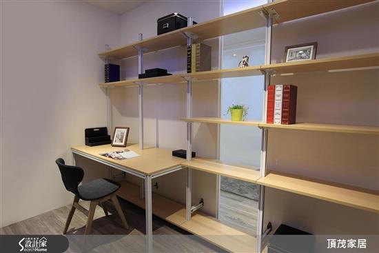 開放式書房-書櫃-書櫃