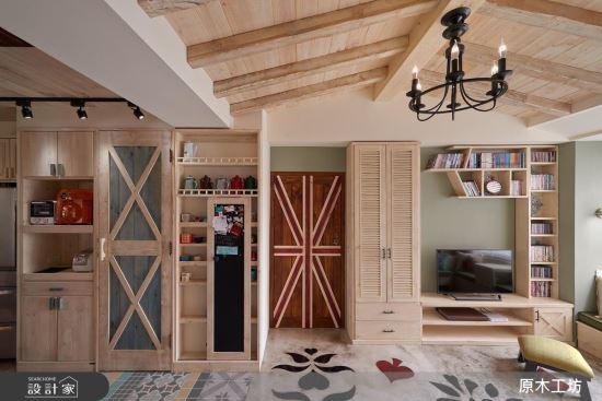 Wood House-【原木工坊 x 客製 電視櫃 / 款式三 】-【原木工坊 x 客製 電視櫃 】,Wood House,客廳類家具,電視櫃
