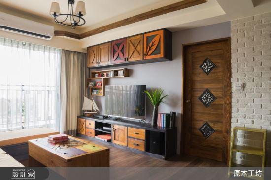 Wood House-【原木工坊 x 客製 電視櫃 / 款式四 】-【原木工坊 x 客製 電視櫃 】,Wood House,客廳類家具,電視櫃