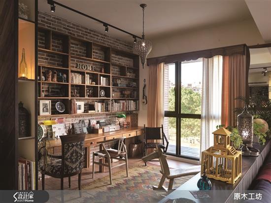 【原木工坊 x 客製 書桌 / 款式二】-書房類家具