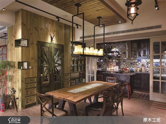 Wood House-【原木工坊 x 客製 餐桌 / 款式二】-【原木工坊 x 客製 餐桌 / 款式一】,Wood House,餐廳類家具