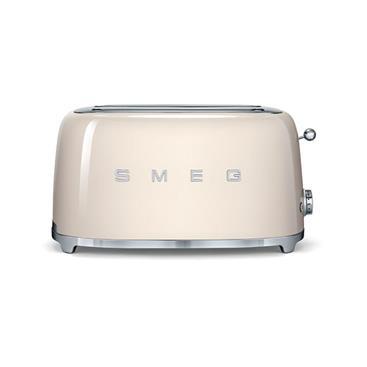 品硯實業有限公司-SMEG 義大利美學家電-烤麵包機(4片式)-SMEG 義大利美學家電-烤麵包機(4片式),品硯實業有限公司,烘焙料理電器