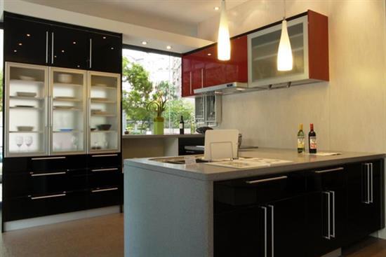 一太日本原裝紅黑ㄇ字形廚具 含三機-廚房設備