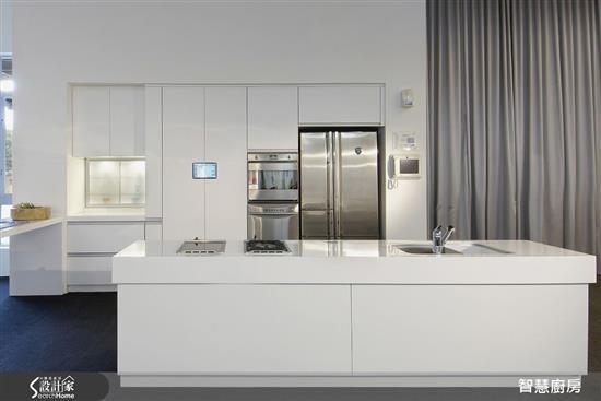 電動系列-RFID+智慧化流理台-廚房門板