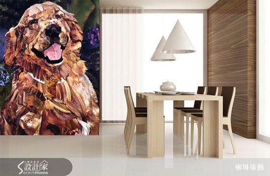 榭琳傢飾有限公司-大幅壁紙系列11-Golden-Retriever-大幅壁紙系列11-Golden-Retriever,榭琳家飾,壁紙