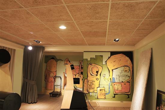 MEXIN美絲 空間聲學產品-美絲輕鋼架天花專用吸音板-美絲輕鋼架天花專用吸音板,華奕國際實業有限公司,木質板材