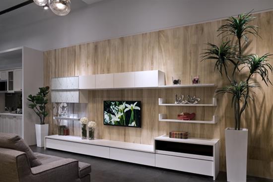 防蟑抗菌/綠建材_客廳系列-化粧粒片板‧塑合板
