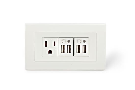 舜記貿易股份有限公司-SMP5系列4孔USB+1孔市電插座-SMP5系列4孔USB+1孔市電插座,舜記貿易股份有限公司,插座、開關