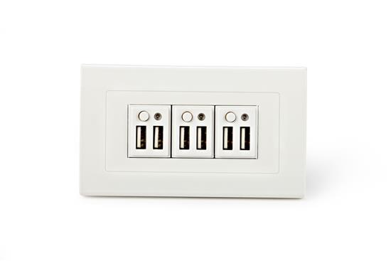舜記貿易股份有限公司-SMP5系列6孔USB插座型-SMP5系列6孔USB插座型,舜記貿易股份有限公司,插座、開關
