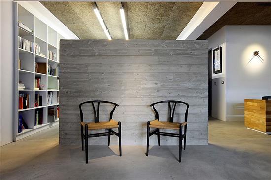 鑽泥板-好感清水模空間-耐燃木絲水泥板