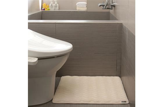 MICRODRY 紐約時尚地墊 -Dimensional Bath Mat 3D波紋記憶綿浴墊 -Microdry,Dimensional Bath Mat 3D波紋記憶綿浴墊 ,慎康企業,地墊
