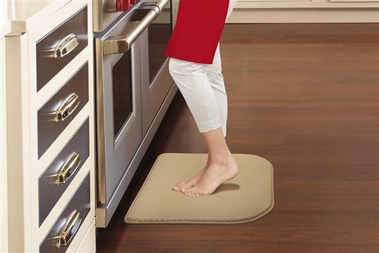 Kitchen Mat Transverse網紋多功能記憶綿地墊-地墊