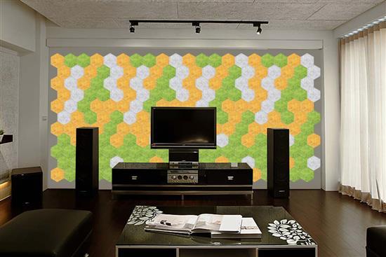 MEXIN美絲 空間聲學產品-Mexin美絲超淨音電視牆-Mexin美絲超淨音電視牆,華奕國際實業有限公司,壁貼