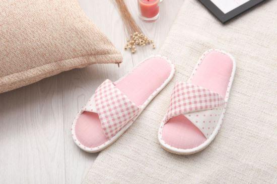 Vero & Nique   維諾妮卡-76040韓系粉嫩扭轉室內布拖鞋-76040韓系粉嫩扭轉室內布拖鞋,Vero & Nique   維諾妮卡,居家用品