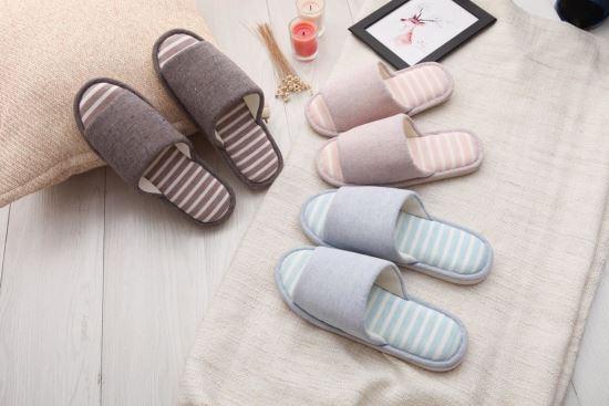 Vero & Nique   維諾妮卡-76042柔色條紋開口室內拖鞋-76042柔色條紋開口室內拖鞋,Vero & Nique   維諾妮卡,居家用品
